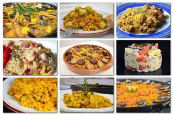 10 recetas para hacer paella y otros tipos de arroz seco