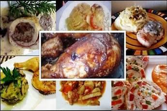 Recetas de pollo, tercer lugar del concurso