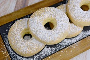 Rosquillas caseras de limón al horno