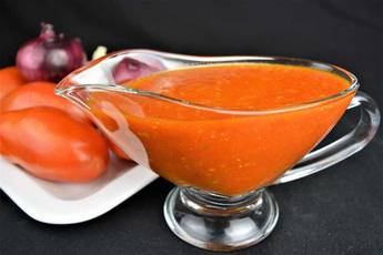 Salsa de tomate frito, receta casera