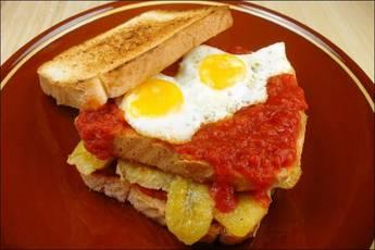 Sándwich habanero, la cena perfecta
