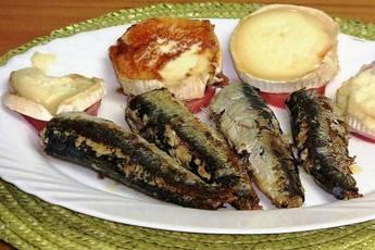 Sardinas asadas con truco, receta casera