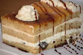 Tarta de caramelo para cumpleaños