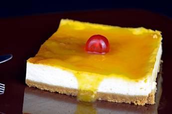 Tarta de queso fácil para 24 personas