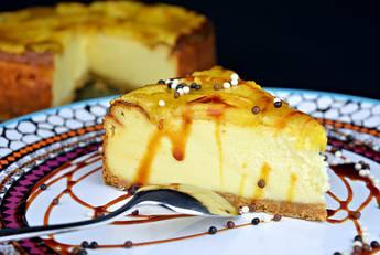 Tarta de queso y manzana, éxtasis de sabores