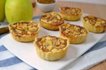 Tartaletas de manzana fáciles