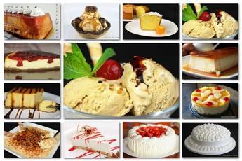 Tartas y postres irresistibles