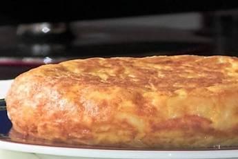 Tortilla de patata, receta casera