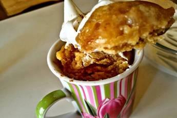 Tres Leches Mug Cake muy fácil