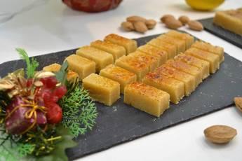 Turrón de yema, receta casera