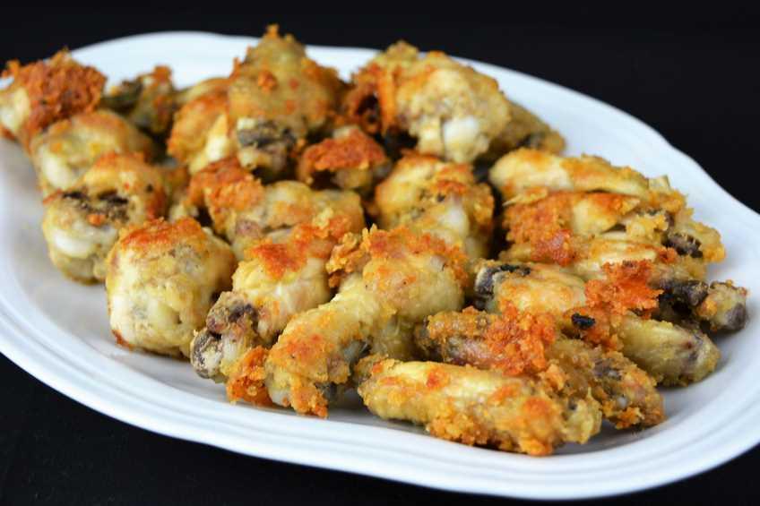 Alitas de pollo al ajillo - Cocinar pollo al ajillo ...