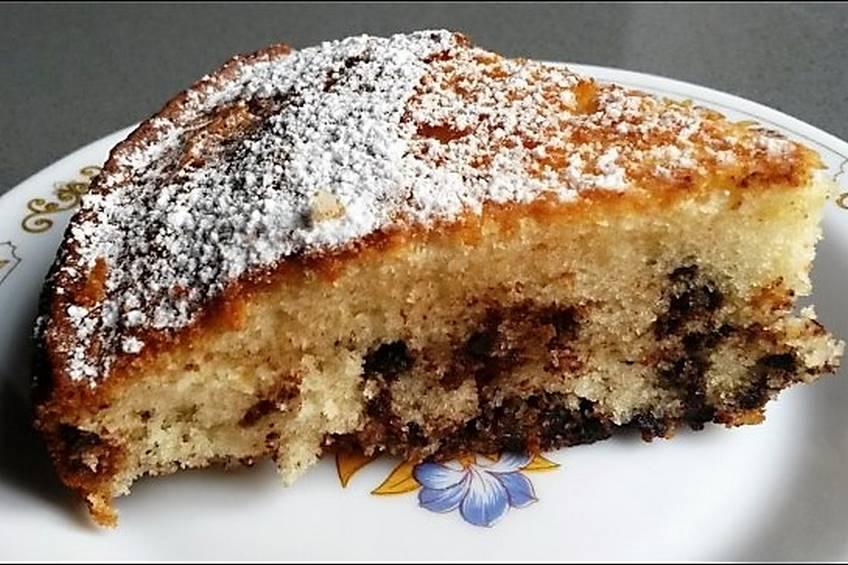 Bizcocho de lim n con chocolate for Cocina con sergio bizcocho