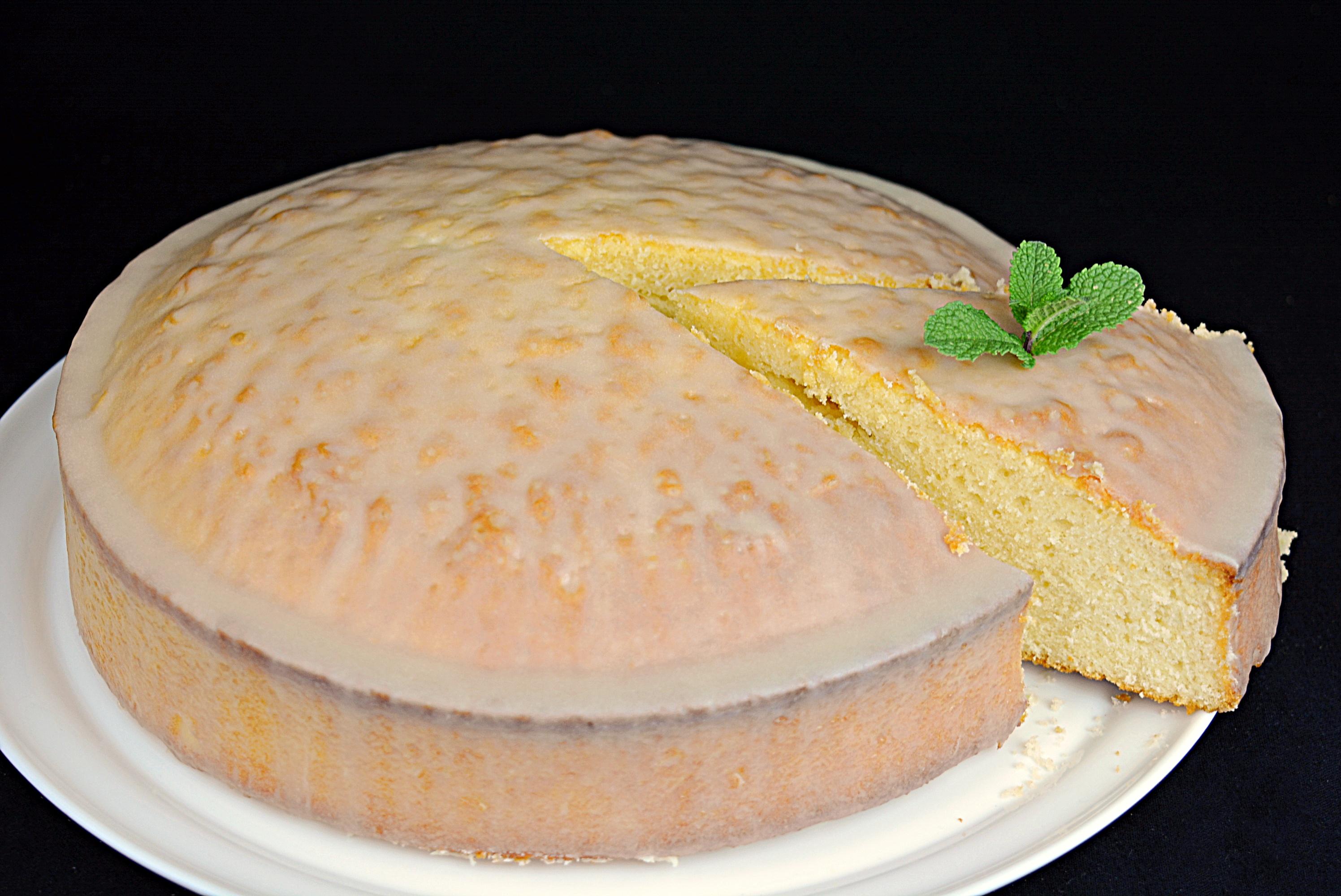 Bizcocho de lim n con ganache de chocolate blanco for Cocina con sergio bizcocho