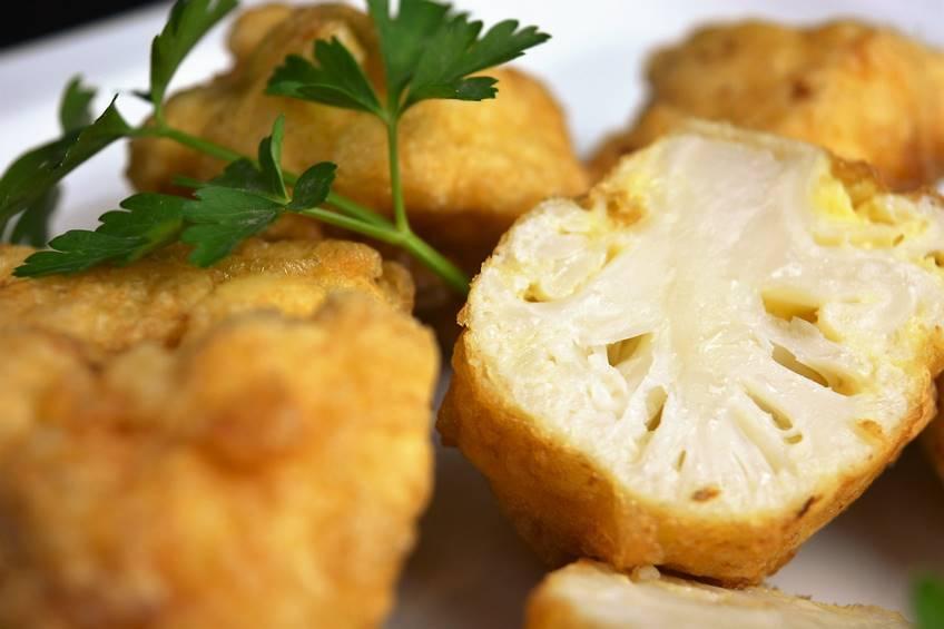 Como Cocinar Coliflor | Coliflor Rebozada Facil