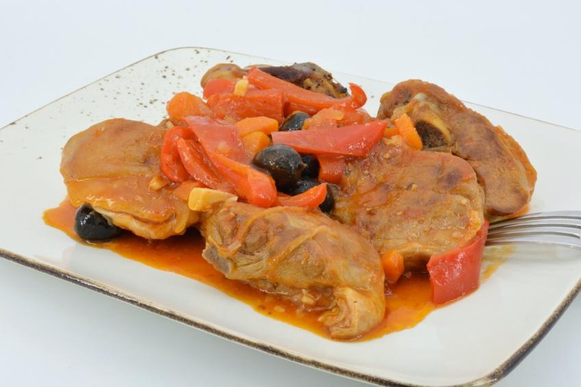 Cordero al chilindr n receta casera for Recetas cocina casera