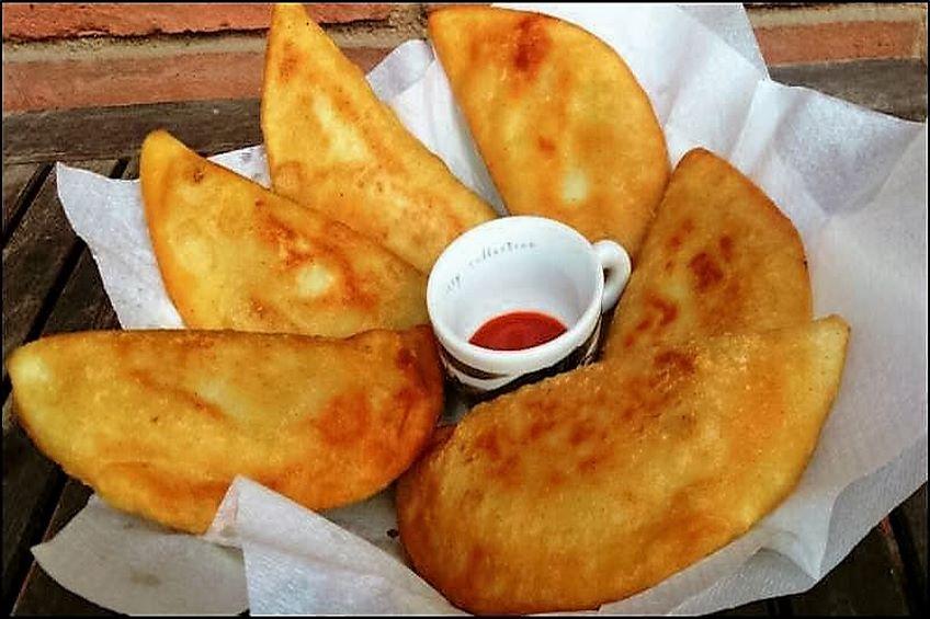 Empanadas venezolanas de pollo for Casa clasica caracas