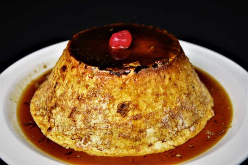 Flan de huevo sin horno - Flan de huevo al bano maria en olla express ...