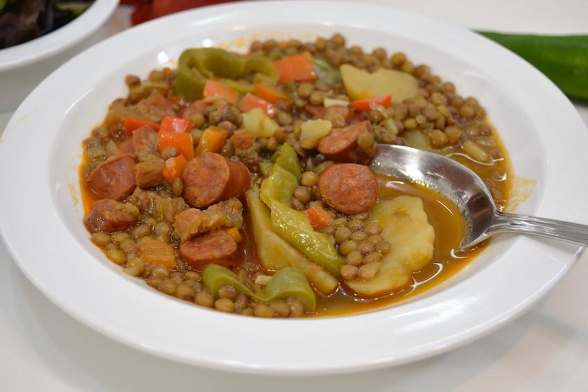 Lentejas a la riojana receta casera for Recetas cocina casera