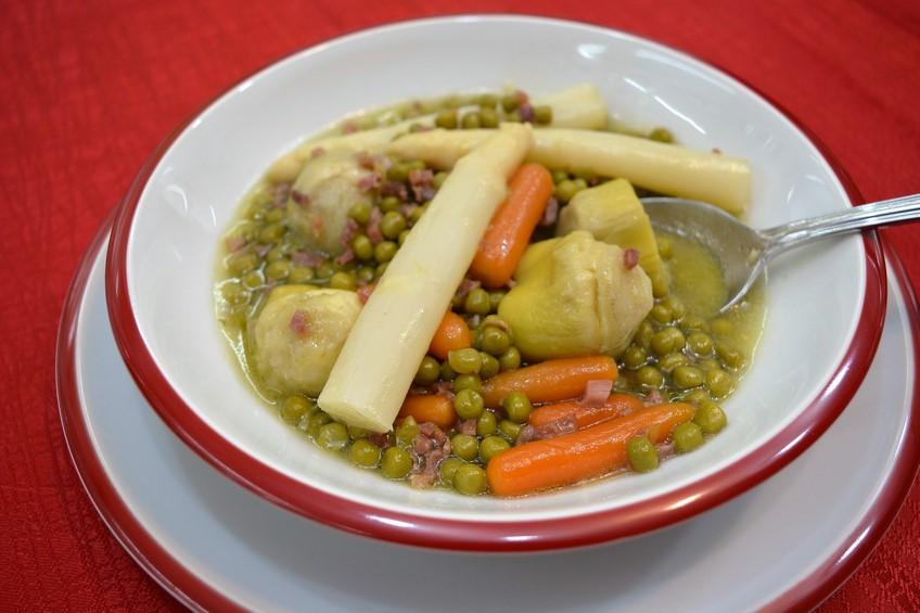 Menestra de verduras de oto o - Como preparar menestra de verduras ...