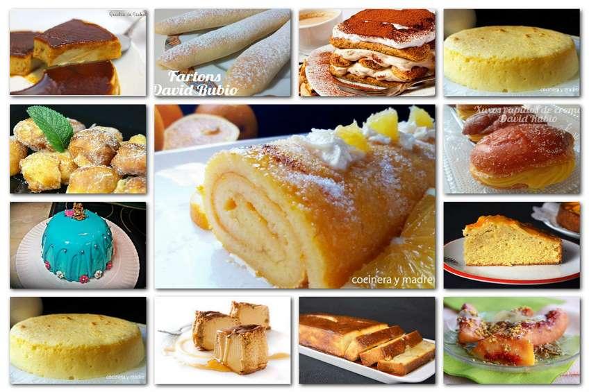 Postres caseros para todos los gustos - Cocina para todos ...