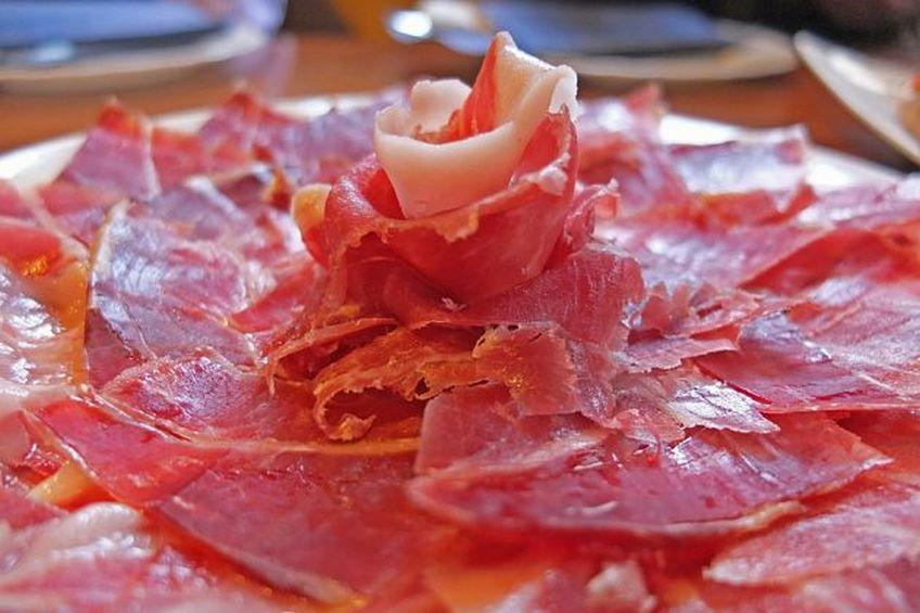 Tapas con jam n ib rico recetas en v deo - Platos con jamon iberico ...