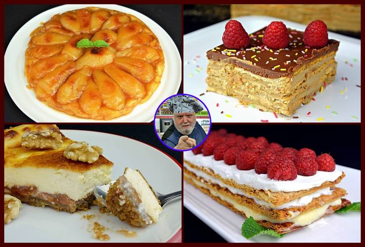 11 tartas caseras irresistibles