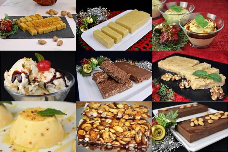 18 recetas de turrón y otros postres para Navidad