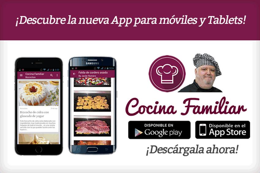 Aplicación para móviles y tablets