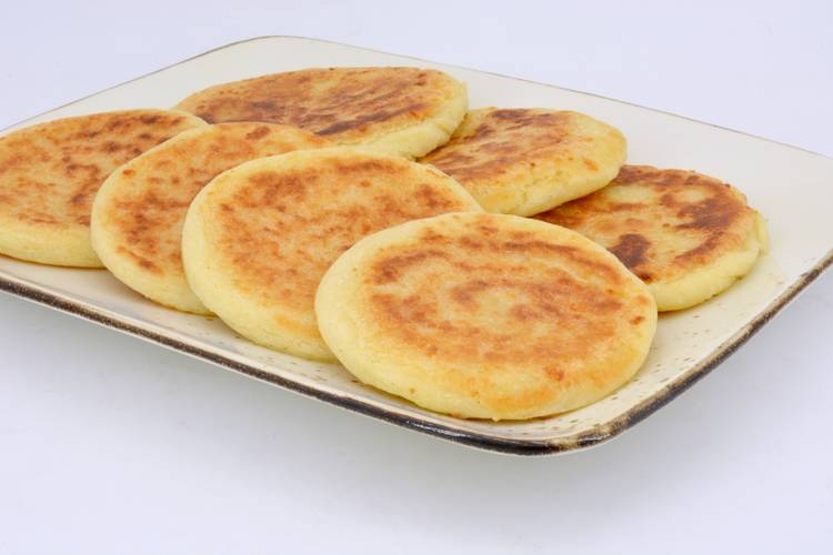 Arepas de queso colombianas