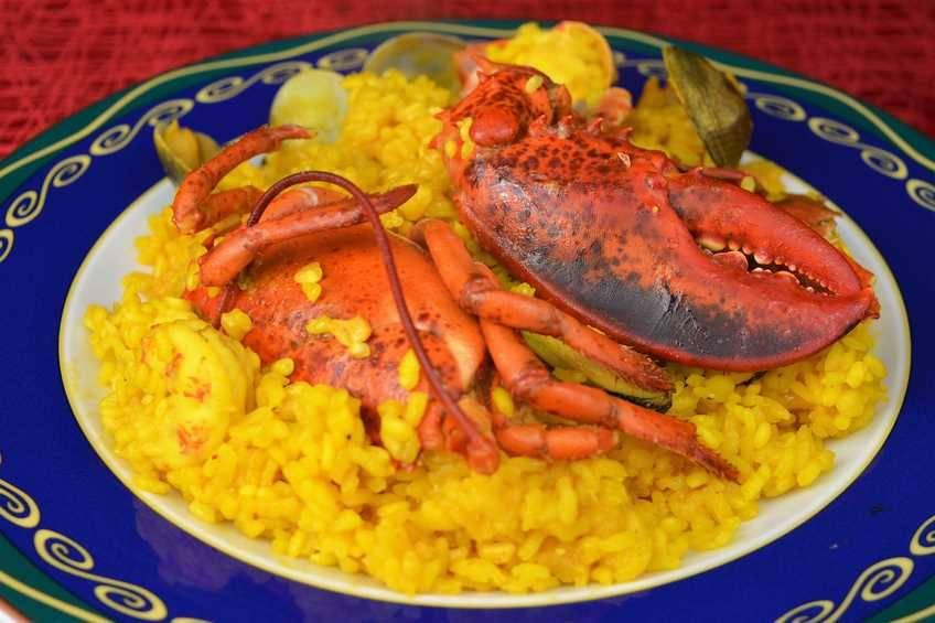 Recetas De Cocina Arroz Con Bogavante | Arroz Con Bogavante Receta Casera