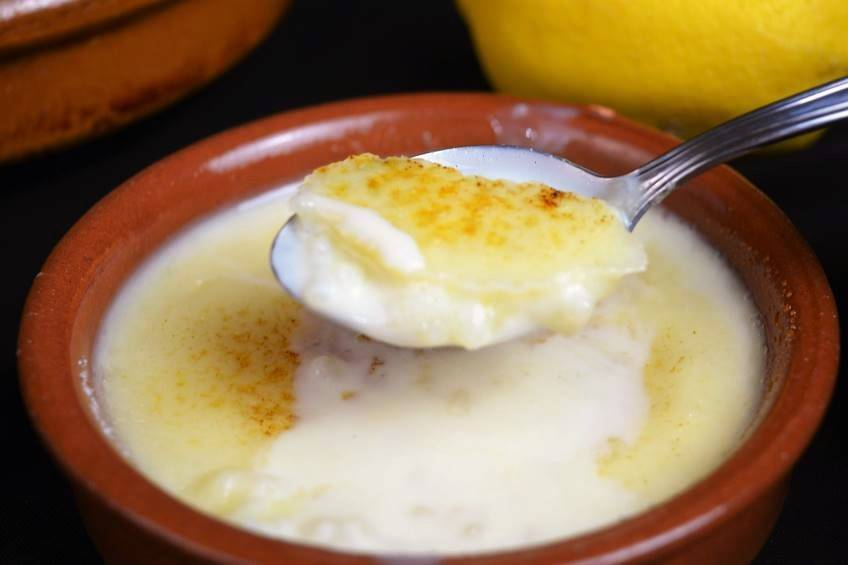 Receta de arroz con leche y leche condensada