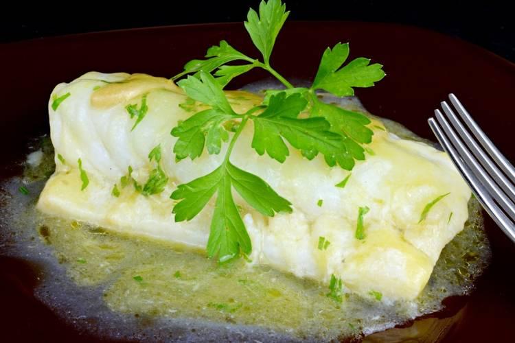 Bacalao en salsa verde muy fácil