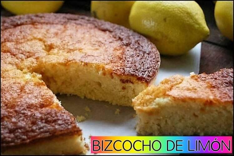 Bizcocho de lim n esponjoso for Cocina con sergio bizcocho