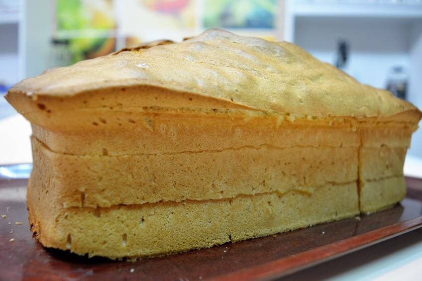 Bizcocho genovés para tarta