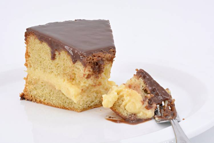 Boston cream pie o pastel de crema