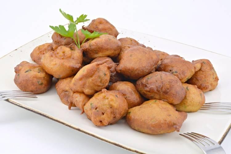 Buñuelos de calabacín y queso fresco en Mycook Touch