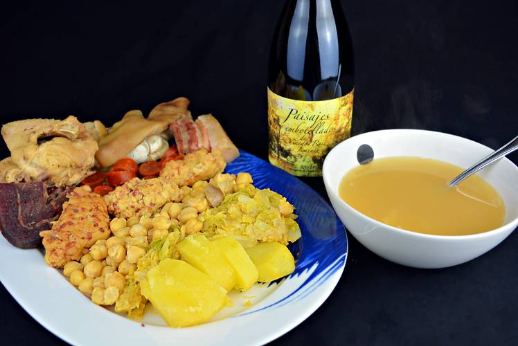 Receta del cocido maragato típico de León
