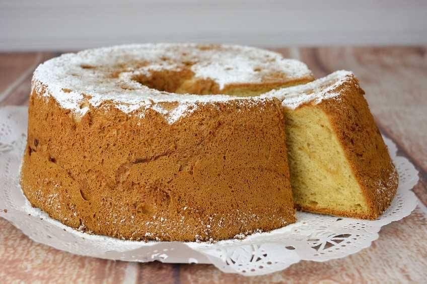 Cómo hacer angel food cake
