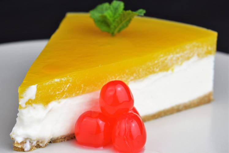 Cómo hacer cheesecake de mango