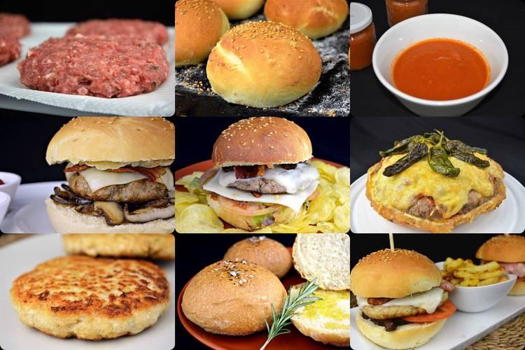 Como hacer las mejores hamburguesas en casa