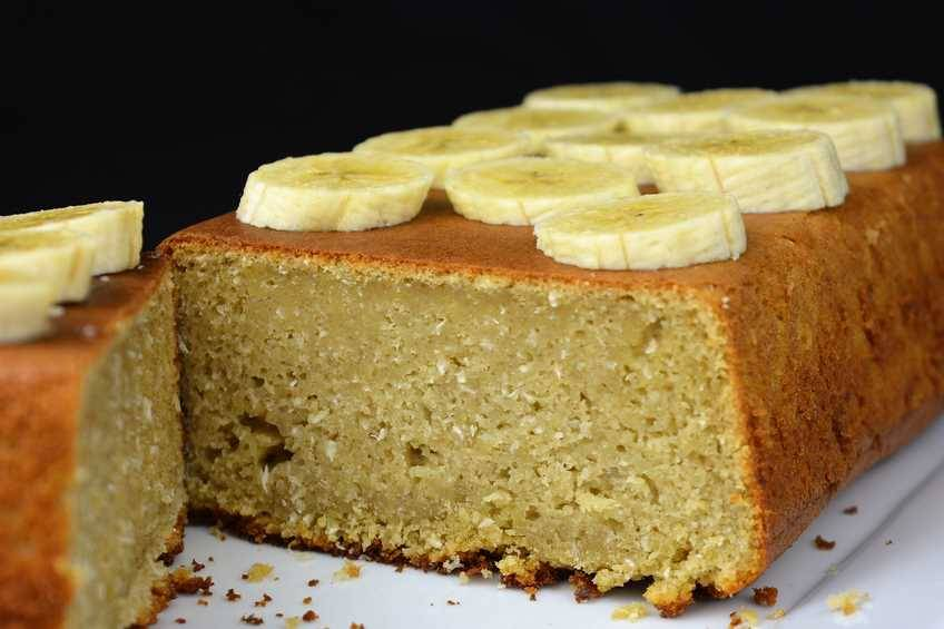 Cómo hacer pastel de plátano y coco