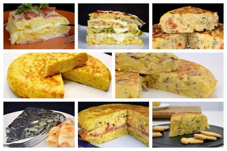 Como hacer tortilla de patata y sus variantes