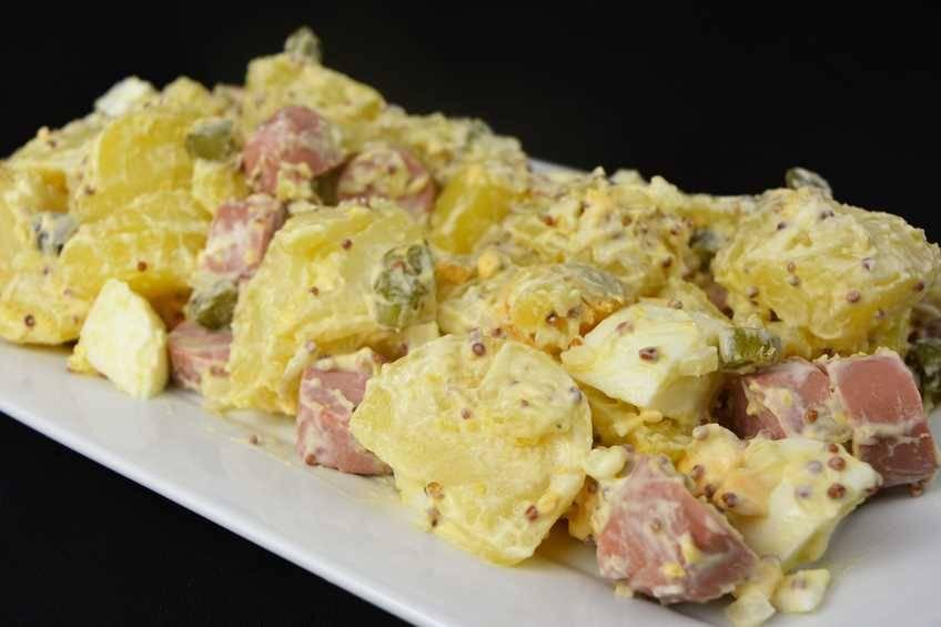 Ensalada de patatas alemana