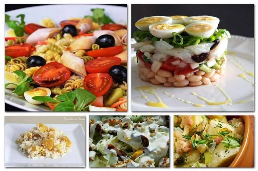 Ensaladas para todos los gustos - Cocina para todos ...