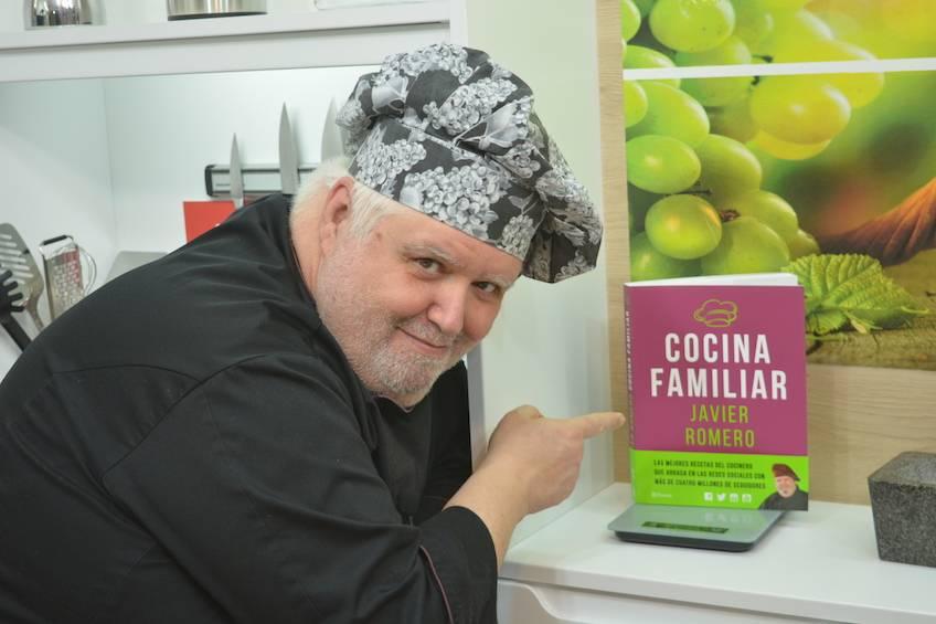 Entrevista en EITB presentando el libro Cocina Familiar