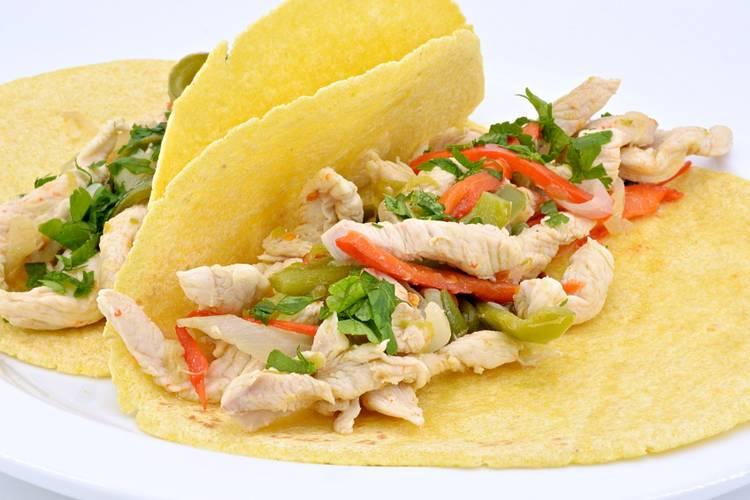 Fajitas de pollo en Mycook Touch