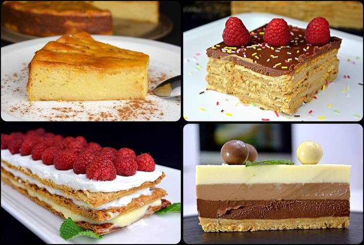 Las 20 mejores tartas para disfrutar con la familia