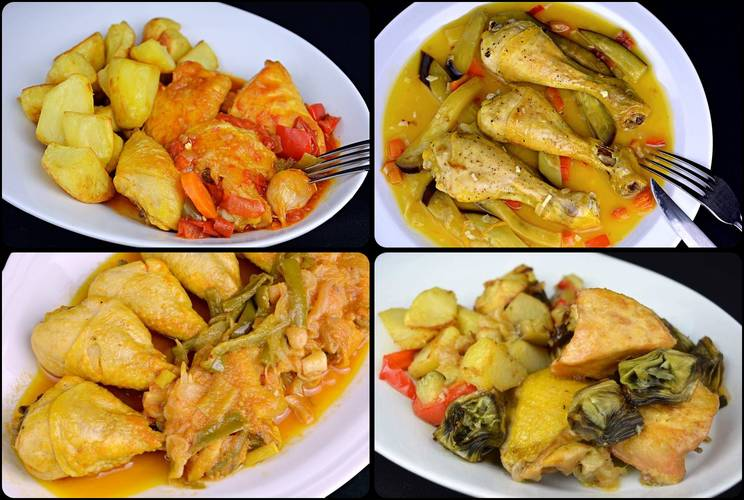20 recetas de pollo en salsa fáciles y económicas