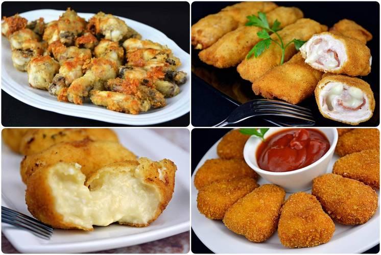 Las mejores recetas de pollo para un menú de picoteo