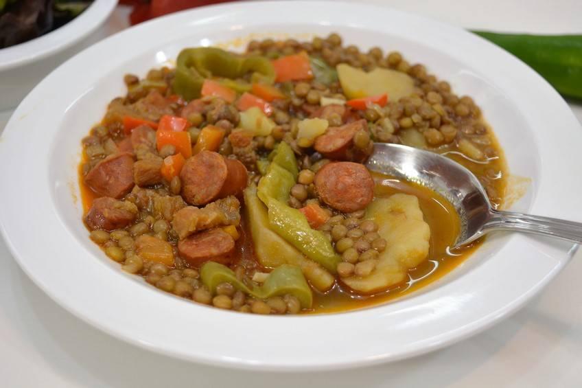 Cocina Riojana | Lentejas A La Riojana Receta Casera